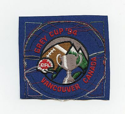 Vintage CFL Grey Cup 1994 Vancouver Jersey Patch Proof British Columbia Canada