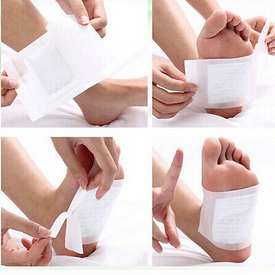 New Arrival 10Pcs/set Detox Foot Pads Patches With Adhesive Fit Health Care CN