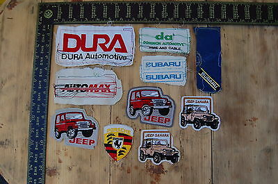 Lot of 10 Car/Truck & Related Vintage Sample Patches/Badges #10