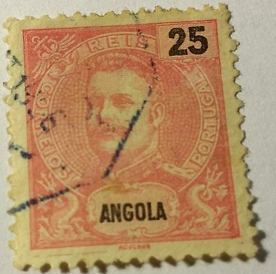 Angola   Scott#45  Used...worldwide Stamps