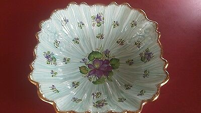 Crown Ducal English Large Floral Porcelain Bowl