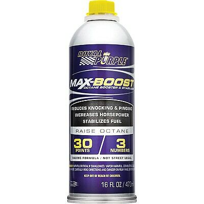 Royal Purple 11757 Max-Boost Octane Booster and Stabilizer - 16 oz., valve seats