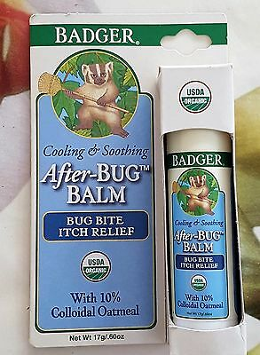 Badger Company, Organic After-Bug Balm, Itch Relief Balm 17 g