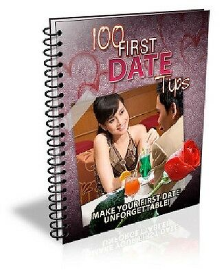 100 First Date Tips Free Shipping ebook Full Resell Right PDF