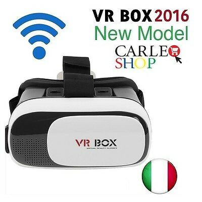 Occhiali Vr Box 2.0 Occhiali Realta' Virtuale 3D Virtual Reality