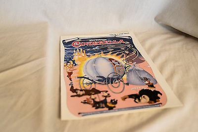 Rare Cinema Campaign, Press Book: WALT DISNEY'S CINDERELLA