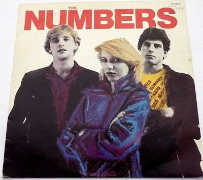 The Numbers - 1980 Self titled first vinyl album