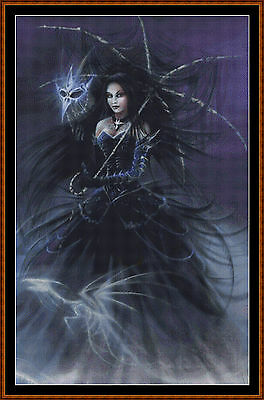 Cross Stitch Chart ( Pattern ) - DRAGON QUEEN  *CD Delivery*