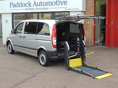 Mercedes Vito 109 CDi Diesel Disabled Wheelchair Adapted Vehicle WAV