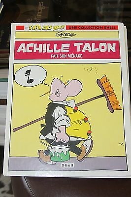 Achille Talon fait son menage . Collection Shell hors commerce