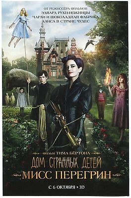 Miss Peregrine's Home for Peculiar Children (2016) Mini Poster Ads Flyers