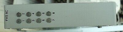 CAC Carrier Access Corp Adit 600 8FXS FXS-8C Tested Warranty