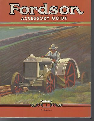 Book: Fordson Accessory Guide Vol 1. Tractor, Plow, Disc, Hay Baler, Mower.
