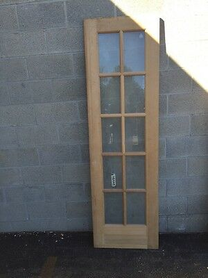 "Cm 98 One 24"" X 80"" X 1.5"" New Old Stock French Door"