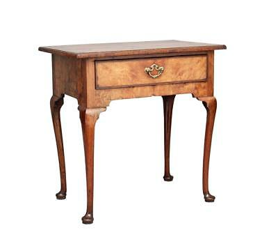 18Th Century Georgian Elm Lowboy Table