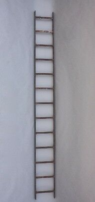 Early 20th Century Industrial Wrought Iron Ladder Antique Vintage Steel (9617)
