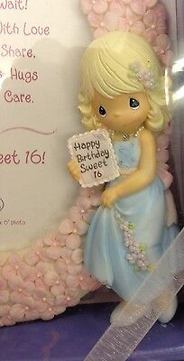 Precious Moments Sweet Sixteen Picture Frame In Box