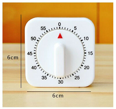 New 60 Mins Count Down Mechanical Timer with Alarm for darkroom