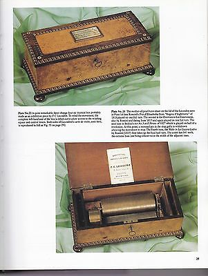 The MUSICAL BOX  by Arthur W. ORD-HUME 1995  ISBN 0887407641