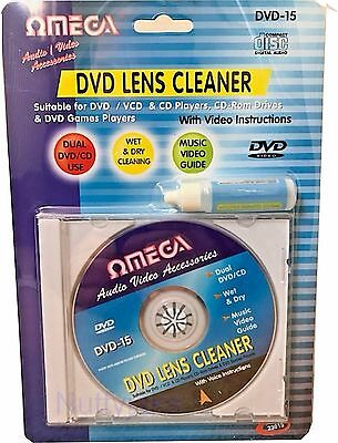 Laser Lens Cleaner Cleaning Kit  PS3 XBOX One/360 BLU RAY DVD PLAYER CD DISCS. w