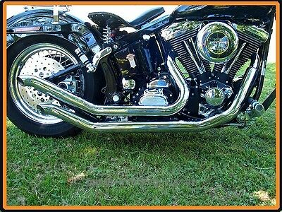 Exhaust System Harley Davidson Softail model Outlaw