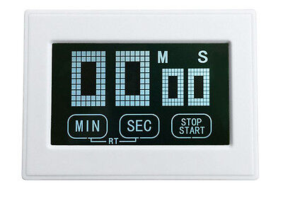 white 100minutes Touch screen  Photographic Timer Developing timer for darkroom