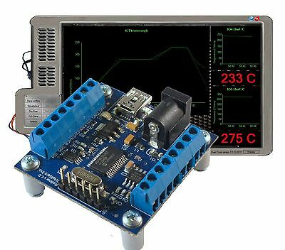 techFX Reflow PID controller dry+brew+cure+monitor temps 3 sensors microchip 6IO