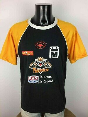 WESTS TIGERS T Shirt Jersey Classic Made in Australia NRL National Rugby League