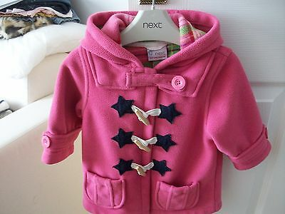 Baby Girls Next Hooded Winter Coat 9-12 Months • £0.99 - PicClick UK