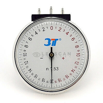 Lens Clock - Premium Radius Gauge for measuring lens curvature
