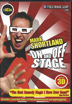 Mark Shortland - On and Off Stage - Comedy Magic DVD