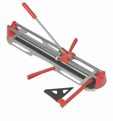 PROFESSIONAL Tile Cutter Manual Tiles SCORING WHEEL Lateral Stop Carry Case NEW