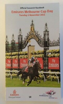 2011 Melbourne Cup Official Race Book - Dunaden - Horse Racing