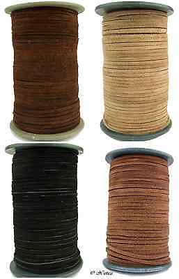 Suede Leather Cord 3mm 10 Feet
