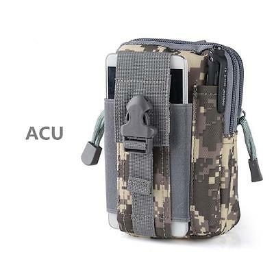 Fashion Tactical Military Waist Pack Molle Camping Hiking Multifunction Belt Bag