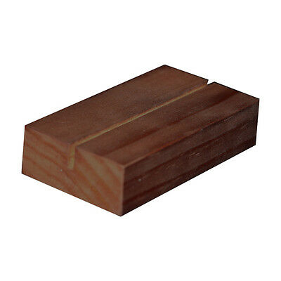 Timber Block to hold Restaurant Clipboard