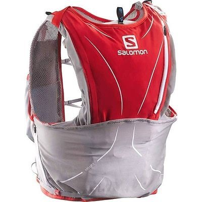 Backpack Salomon Advanced Skin 3 S-Lab  12 set red size M/L