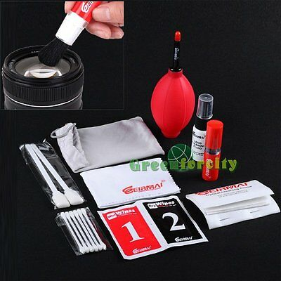 EIRMAI 9 in 1 Pro Lens Cleaning Kit For Canon Nikon Sony Olympus All DSLR Camera