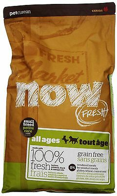 Now Fresh Grain Free for Small Breed Adult Dog Food Bag 12-Pound (152312) NEW