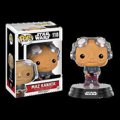 Figurine Star Wars The Force Awakens - Maz Kanata Out Glasses Exclusive Pop 10cm