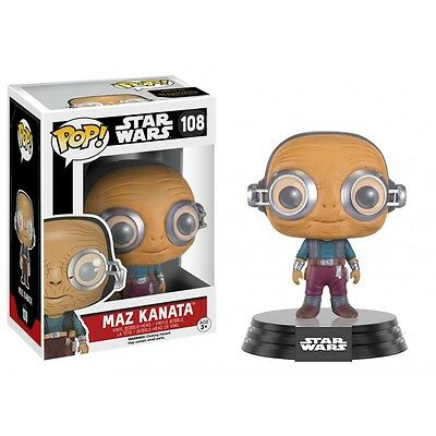 Figurine Star Wars The Force Awakens - Maz Kanata Pop 10cm
