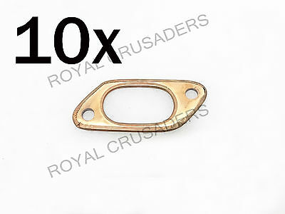 NEW LAMBRETTA GP,LI,SX AND TV 150cc EXHAUST GASKETS PACK OF 10 #VP50 (CODE-1288)