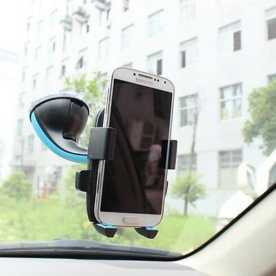 360°Adjustable Car/Truck Windshield Suction Cup Mobile Cell Phone Mount Holder