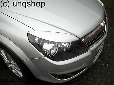 420002 ABS Plastic Vauxhall Astra H MK5 Eyebrows