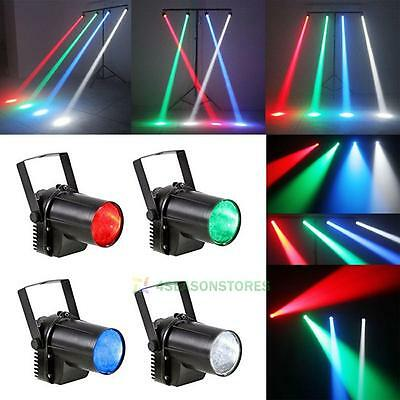 3W Colorful RGB LED Pin Spot Stage Light Disco DJ Party Show Beam Effect Lights