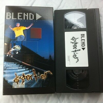 Distortion ~ Issue #1 ~ Skateboard Video by Blend Magazine 2001 VHS