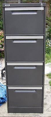 "Australian made 4 drawer FILING CABINET ""Coform"", lockable, comes with Key"