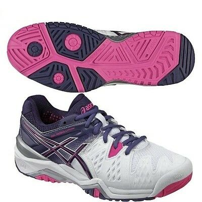 ASICS GEL RESOLUTION 6 ALL COURT : Scarpe NUOVE Tennis Donna Listino € 147,00
