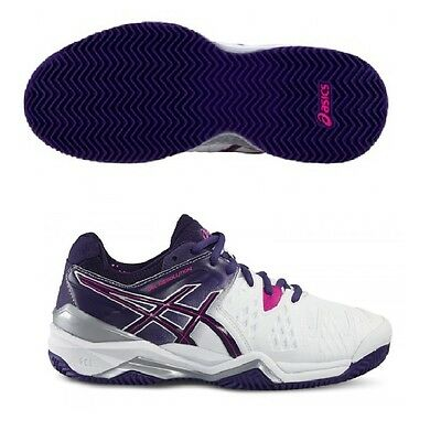 ASICS GEL RESOLUTION 6 CLAY : Scarpe NUOVE Tennis Donna Listino € 147,00