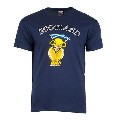 Heritage of Scotland Men's Scottish Cow T-Shirt